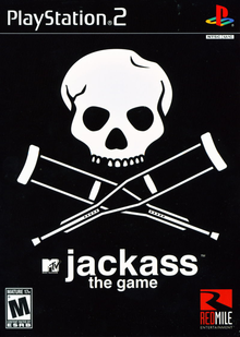 Box art for the game Jackass: The Game