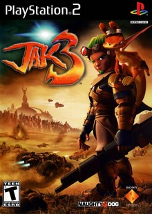Box art for the game Jak 3