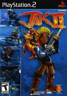 Box art for the game Jak II