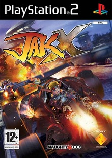 Box art for the game Jak X: Combat Racing