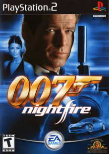 Box art for the game James Bond 007: NightFire
