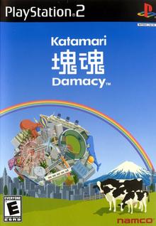 Box art for the game Katamari Damacy