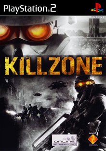 Box art for the game Killzone