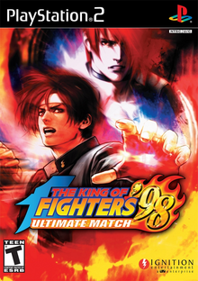 Box art for the game The King of Fighters '98 Ultimate Match