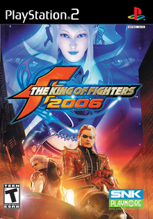 Box art for the game The King of Fighters 2006