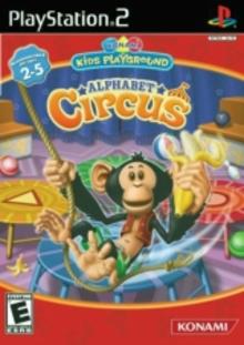 Box art for the game Konami Kids Playground: Alphabet Circus