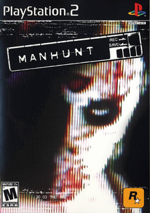 Box art for the game Manhunt