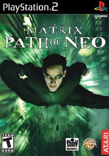 Box art for the game The Matrix: Path of Neo
