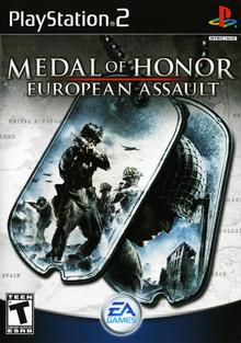 Box art for the game Medal of Honor European Assault