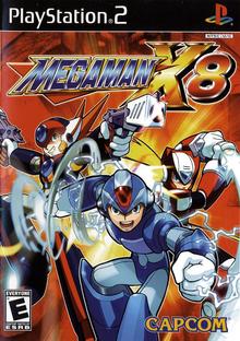 Box art for the game Mega Man X8