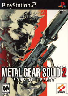 Box art for the game Metal Gear Solid 2: Sons of Liberty