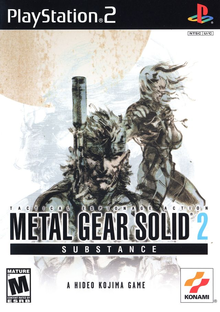 Box art for the game Metal Gear Solid 2: Substance