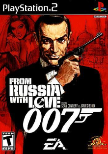 Box art for the game James Bond 007 From Russia with Love