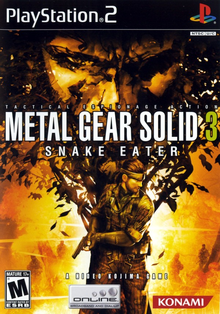 Box art for the game Metal Gear Solid 3: Snake Eater