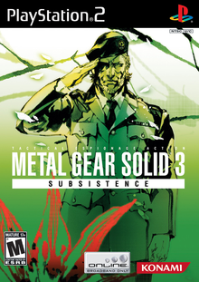Box art for the game Metal Gear Solid 3: Subsistence