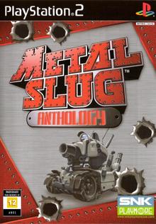 Box art for the game Metal Slug Anthology