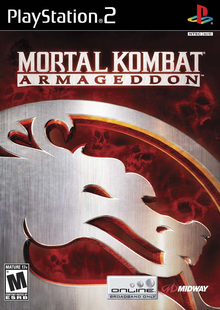 Box art for the game Mortal Kombat: Armageddon