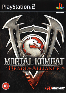 Box art for the game Mortal Kombat: Deadly Alliance