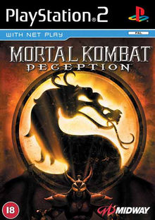 Box art for the game Mortal Kombat: Deception