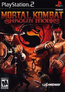 Box art for the game Mortal Kombat: Shaolin Monks