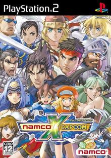Box art for the game Namco X Capcom