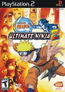Box art for the game Naruto: Ultimate Ninja 2