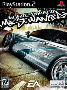 Box art for the game Need for Speed Most Wanted