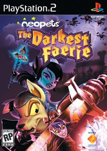 Capa do jogo Neopets: The Darkest Faerie