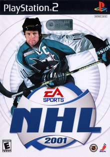 Box art for the game NHL 2001