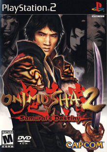 Box art for the game Onimusha 2: Samurai's Destiny