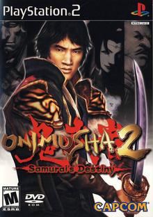 Capa do jogo Onimusha 2: Samurai's Destiny