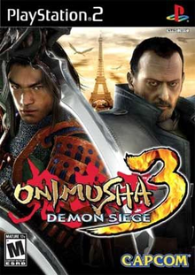 Box art for the game Onimusha 3: Demon Siege