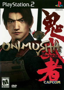 Box art for the game Onimusha: Warlords