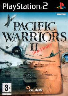 Box art for the game Pacific Warriors II: Dogfight!