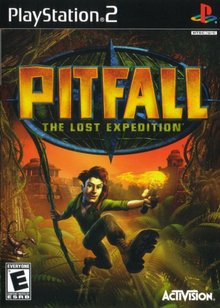 Capa do jogo Pitfall: The Lost Expedition