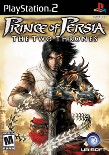 Box art for the game Prince of Persia: The Two Thrones