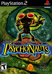 Box art for the game Psychonauts