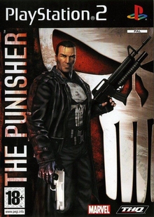 Capa do jogo The Punisher (2005)