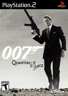 Box art for the game Quantum of Solace