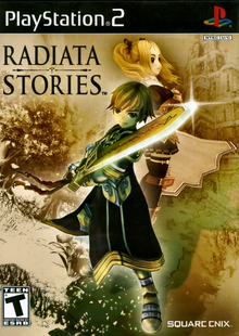 Box art for the game Radiata Stories