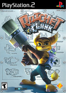 Box art for the game Ratchet & Clank