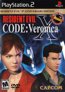 Box art for the game Resident Evil CODE: Veronica X
