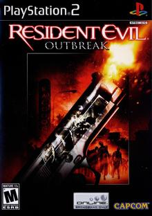 Box art for the game Resident Evil Outbreak