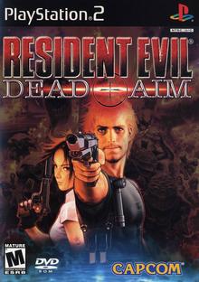Box art for the game Resident Evil: Dead Aim