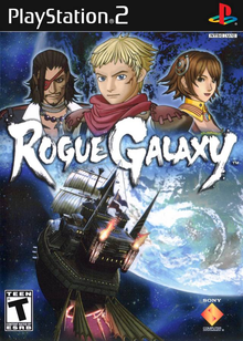Box art for the game Rogue Galaxy