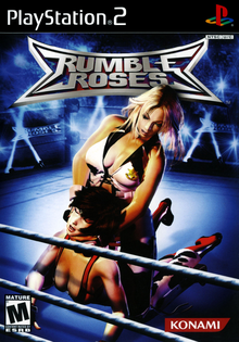 Box art for the game Rumble Roses