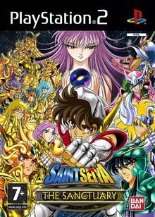 Box art for the game Saint Seiya: Chapter Sanctuary