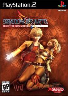 Box art for the game Shadow Hearts: From the New World