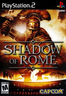 Box art for the game Shadow of Rome