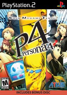 Capa do jogo Shin Megami Tensei: Persona 4